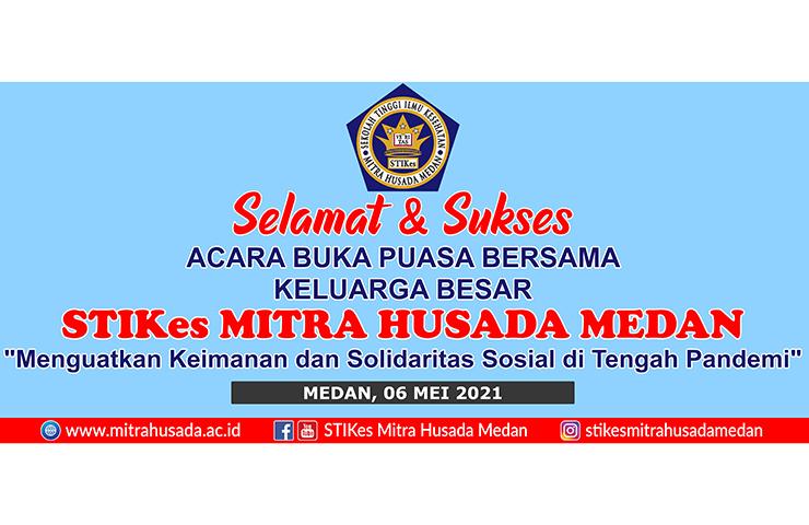 Selamat dan Sukses Acara Buka Puasa Bersama Keluarga Besar STIKes Mitra Husada Medan