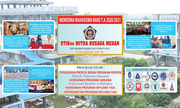 Brosur Penerimaan Mahasiswa Baru T.A 2020/2021 STIKes Mitra Husada Medan
