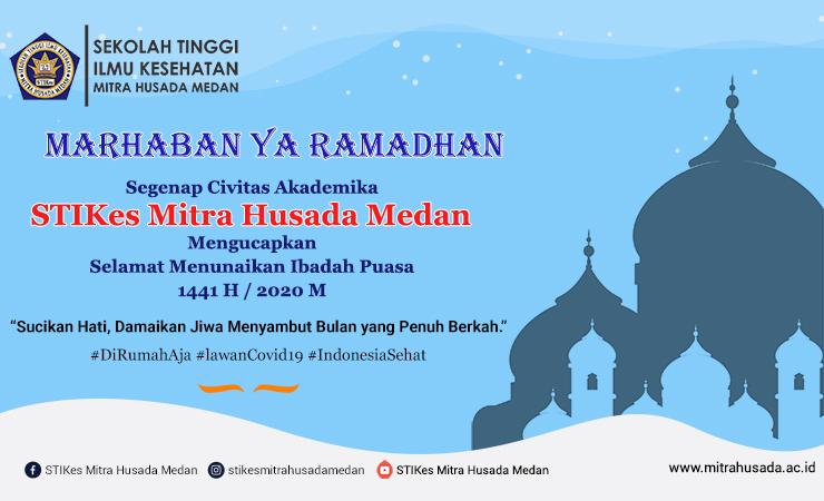Selamat Menyambut Bulan Suci Ramadhan 1441 H / 2020 M