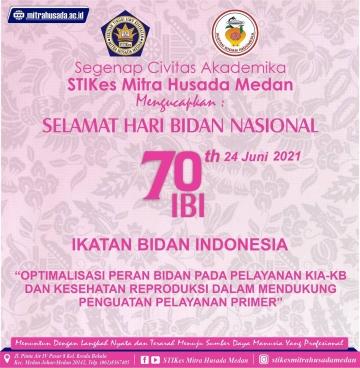 Selamat Hari Bidan Nasional Ke 70
