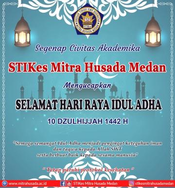 Selamat Hari Raya Idul Adha 1442 H / 2021 M
