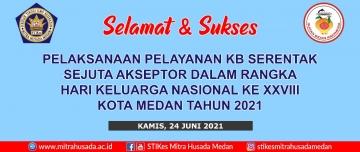 STIKes Mitra Husada Medan terpilih menjadi Panitia Dalam Rangka Peringatan Hari Keluarga Nasional (HARGANAS) ke XXVIII Tahun 2021