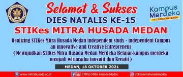 Acara Dies Natalis Ke-15 STIKes Mitra Husada Medan