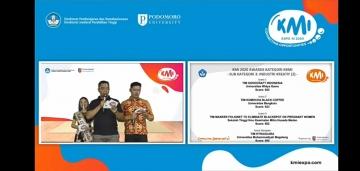 Mahasiswa STIKes Mitra Husada Medan Juara III KMI EXPO XI 2020