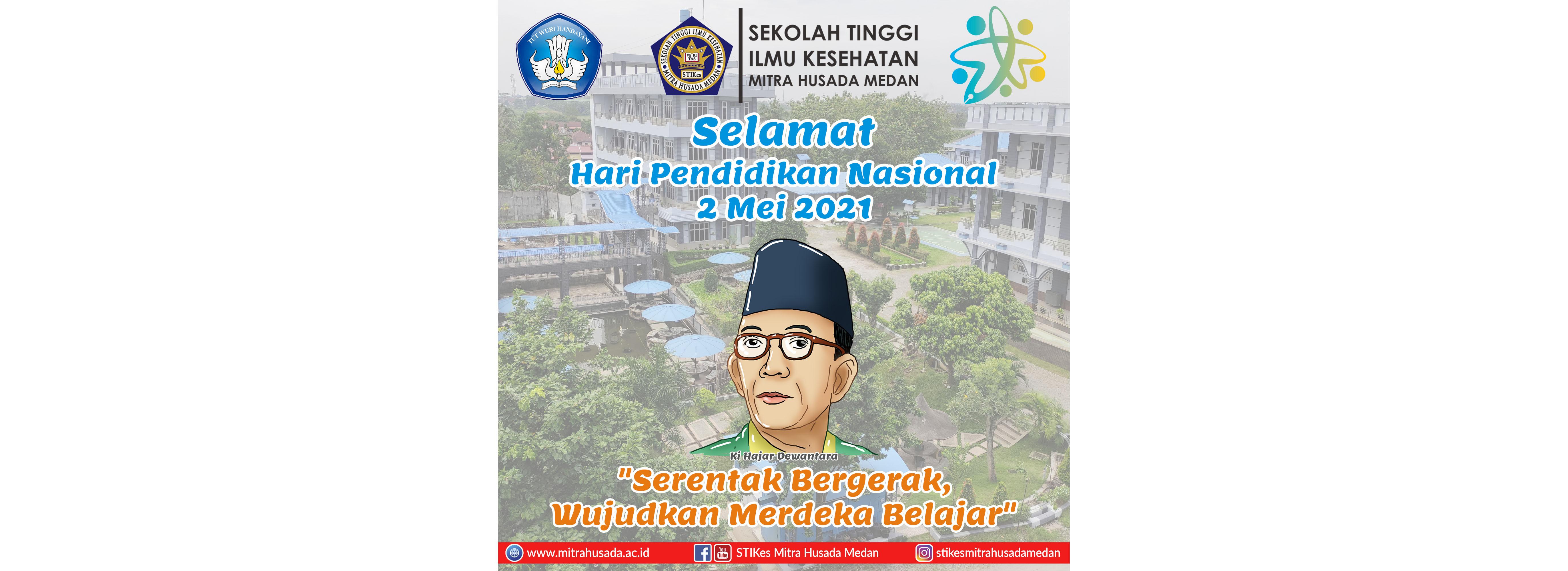 Selamat Hari Pendidikan Nasional 2 Mei 2021